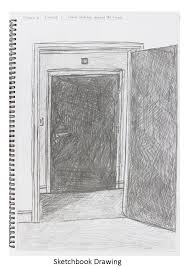 closed door drawing. Contemporary Door Door Sketch Inside Closed Door Drawing