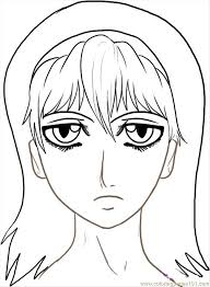 Small Picture Ow To Draw Anime Faces Step 7 Coloring Page Free Pop Artists