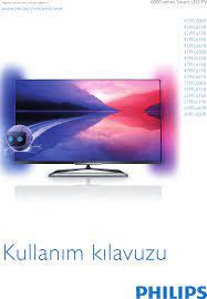 Philips 60PFL6008S/12 42 47 55 60PFL6008 User Manual Brugervejledning  60pfl6008s 12 Dfu Tur