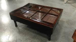 shadow box window coffee table diy display case il full