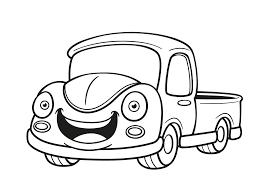 Kleurplaat Race Vrachtwagen Woyaoluinfo