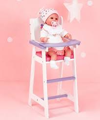 Little Princess Baby High Chair for 18\u0027\u0027 Doll Olivias World 18