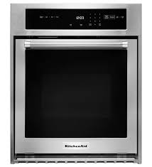 wall ovens kitchenaid kitchenaid 174 24 quot single wall oven true convection