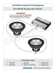 jl audio w3 wiring diagram shareit pc kicker cvr wiring diagram library woofit audio svc ohm mono low imp subwoofer diagrams crutchfield comp