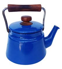 jens quistgaard blue dansk kobenstyle tea kettle  Ürünler Çaylar