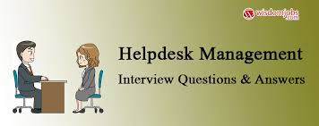 Interview Questions For Help Desk Helpdesk Management Interview Questions Answers