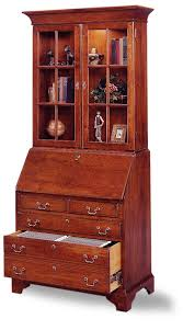 jasper cabinet arlington 875 03 file drawer secretary desk with hutch top locking drop lid lighted hutch full extension file drawer optional leather