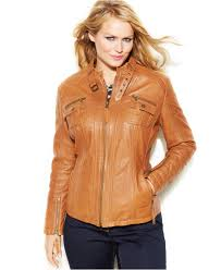 womens leather motorcycle jackets plus size