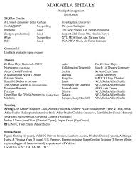 Resume Accent Resume MAKAELA SHEALY 99