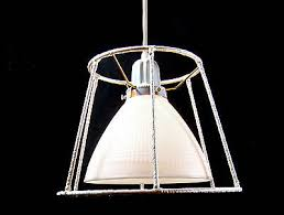 vintage chandelier industrial milk glass pendant repurposed shade white custom