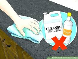 how to clean granite countertop stains cleaning granite stains cleaning image titled polish granite counter tops