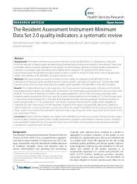 Mds Charting Examples The Resident Assessment Instrument Minimum Data Set 2 0