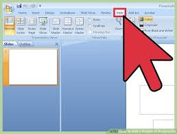 ways to add a header in powerpoint wikihow image titled add a header in powerpoint step 1