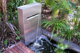 outdoor water featureodern garden fountains modern wall fountain