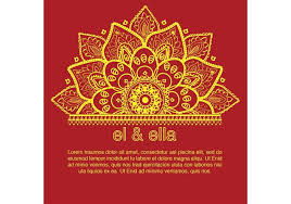 Wedding Cards Template Indian Wedding Card Template Download Free Vector Art Stock