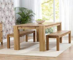Painted Farmhouse Dining Table With Bench U2014 Farmhouse Design And Oak Table Bench