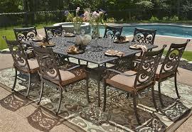 cast aluminum patio furniture sets Popular Cast Aluminum Patio