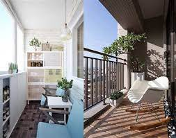 long narrow balconies how to decorate