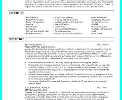 Sample Construction Superintendent Resume Superintendent Resume Template Andrewhaslen Co
