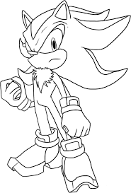 Small Picture Shadow The Hedgehog Coloring Pages To Download And Print For Free