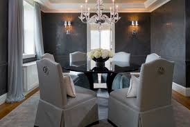 dining room paint color ideasElegant dining room paint colors with round glass table and