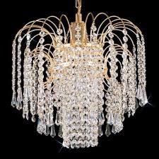 crystal pendant lamp gold 0775 ry kamenický Šenov