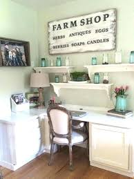 farmhouse office furniture cottage style feathered nest french country desks industrial farmhous