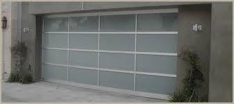 frameless garage doors glass s mirror