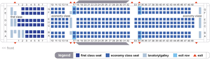 Delta Airlines Aircraft Seating Chart Delta Airlines Boeing 767 400er Seating Map Aircraft Chart