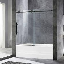 ᐅ woodbridge frameless bathtub shower
