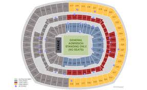 U2 Metlife Seating Chart Metlife Stadium Seating Chart U2 Elcho Table