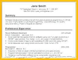 Resume Summaries Examples Prile S Quickplumberus Unique Resume Summaries