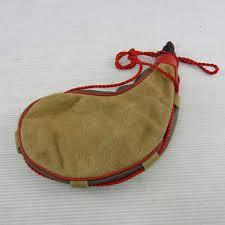 spanish leather brown red 1 liter bota wine bag
