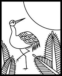 レク素材 花札1月松に鶴介護レク広場レク素材やレクネタ企画