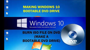 How To Make Bootable Windows 10 Dvd Drive From Iso File Burn Iso File To Dvd