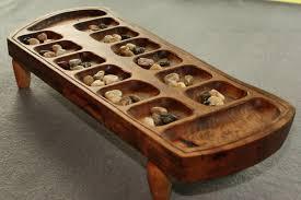 Mancala Wooden Board Game Mancala Playing Board by Brett LumberJocks woodworking 12