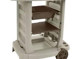 garden tool storage cart in garage racks outdoor grill