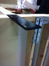 in this case you will need support brackets or plated installed before your countertops are installed
