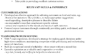 ... Nice Looking Relevant Skills Resume 4 Relevant Skills Resumes ...