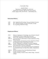 Cv Employment History Under Fontanacountryinn Com