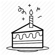 birthday cake slice drawing. Beautiful Drawing Image Result For Birthday Cake Slice Drawing On Birthday Cake Slice Drawing T