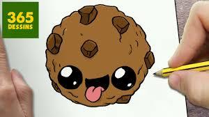 Comment Dessiner Biscuit Kawaii Tape Par Tape Dessins Kawaii