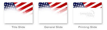 Free American Flag Powerpoint Template