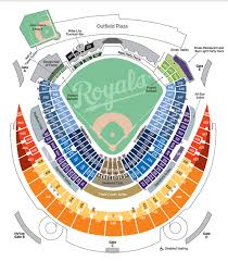 Royals Seating Chart 2012 Kauffman Stadium The Home Of The Royals Tba