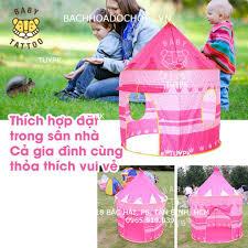 Đồ chơi Lều lâu đài Hoàng Tử Công Chúa cho trẻ em, bé gái, đồ chơi bé trai,  quà tặng sinh nhật