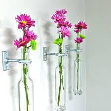 wall flower vases
