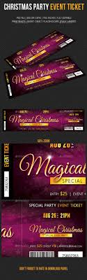 Party Tickets Templates 24 Best Ticket Design Images On Pinterest Ticket Design 9