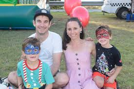 Lucas, Nicole, Isaac and Felix Lynch at Maclean Showground for ... | Buy  Photos Online | Whitsunday Times