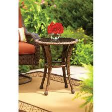 better homes and gardens azalea ridge 20 round outdoor side table com