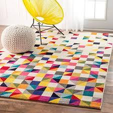 nuloom eccr16a takisha triangle area rug 5 x 8 multi